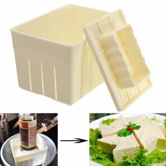 3Pcs Tofu Maker Press Mold Kit + Cheese Cloth Diy Soy PressingmouldKitchen Tool Set - intl Price Philippines
