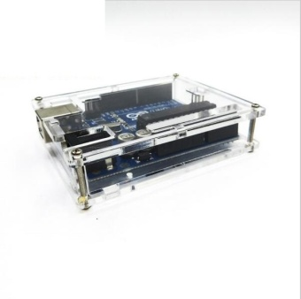 3pcs Uno R3 Case Enclosure Transparent Acrylic Box Clear CoverCompatible with Arduino UNO R3 - intl Price Philippines