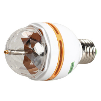 3W E27 Crystal RGB Stage Light - picture 2