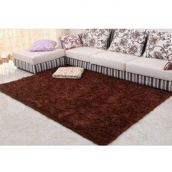 4 cm silk hair living room coffee table bedroom carpet Coffee