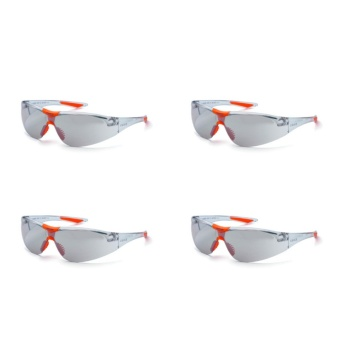 4 PCS. Astro 91713 Safety Spectacles Eyewear Sporty Goggles OutdoorGlasses (Mirror) ANSI