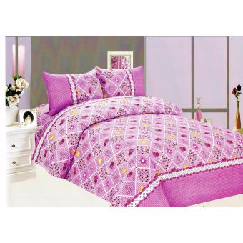 4-Piece Queen Size Bedding with Luxury Cotton Feel- Summer AccentsSeries by Manhattan Homemaker