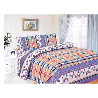 4-Piece Queen Size Bedding with Luxury Cotton Feel- Tunisian Seriesby Manhattan Homemaker