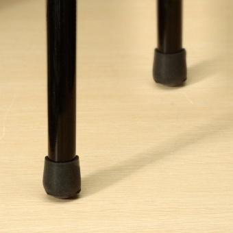 4 x Rubber Furniture Table Chair Leg Floor Feet Cap Cover ProtectorAnti Scratch 22mm - intl - 5