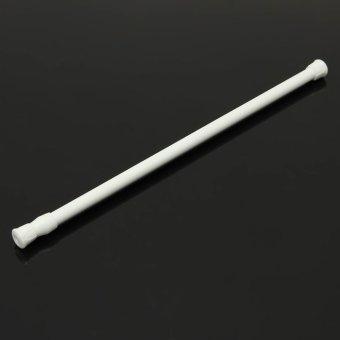 40-75Cm Spring Net Shower Curtain Rods Voile Extendable Tension Telescopic Poles - 4