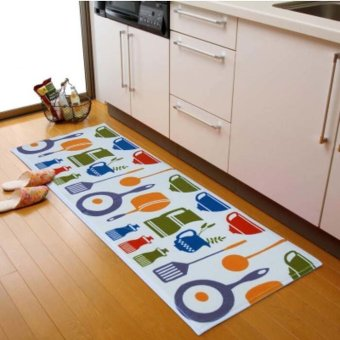 40 x 120CM Anti-Slip Kitchen Floor Carpet Door Mat Hallway Rug (Multicolor)