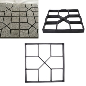 40cm Paving Mold DIY Making-Road Road-Mould Cement Brick Lawn Paver Manually - intl