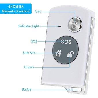 433MHZ Wireless On-site Home Security Burglar House Alarm SystemTomnet - intl - 2