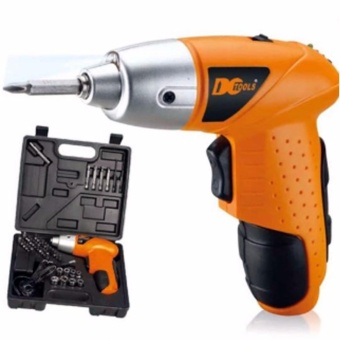 45 Pcs Set Compact No Noise Cordless Rachargeable Drill Screwdriver