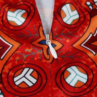 45 x 45cm Round Mandala Floor Pillows Round Bohemian MeditationCushion Cover Ottoman Pouf cover case, Pom Pom Pillow Cases,Outdoor Cushion Cover X3 - intl - 3