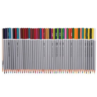 48 PCS Muliti-color Water-soluble Colored Watercolor Pencils Penswith Paint Brush Art Supplies for Students Artists - intl
