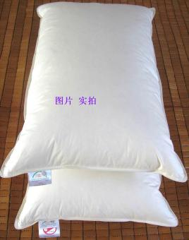 48x74 hotel white goose feather pillow sleeping pillow
