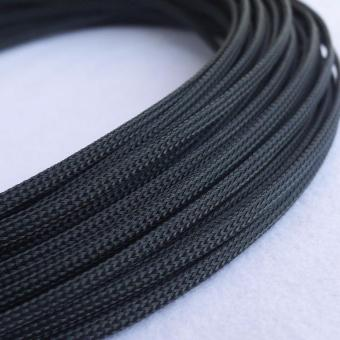 4mm Tight Braided PET Expandable Sleeving Cable Wire Sheath-5meters- intl