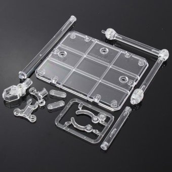 4PCS Action Base Suitable Clear Display Stand for 1/144 HG/RG Gundam/Figure Model Toy - intl - 3