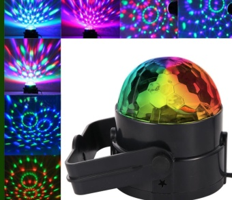 4PCS LITAKE LED Disco Ball Light with Remote Control, Portable MiniRGB Party Lamp, 7 Colors Sound Actived Crystal Magic Stage Lightfor Party, KTV, Club - intl - 2