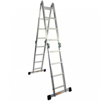 4x4 Aluminum Multi-Purpose Ladder (Silver)