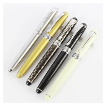 5 pcs Jinhao X750 Fountain Pen in Different Colors with Simple PenBags