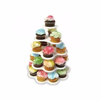 5-Tier Cupcake Stand (White) Price Philippines