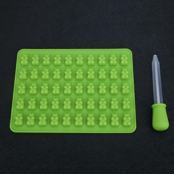50 Holes Silicone Mold Baking Little- Bear Accessory Ice Chocolate Tray - intl Price Philippines