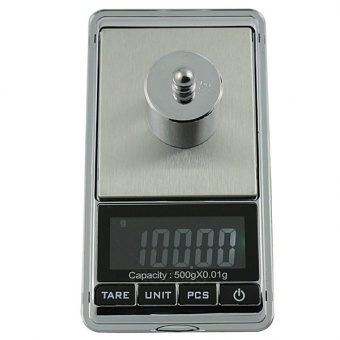 500g X 0.01g Portable Digital Pocket Kitchen Scale Precision Jewelry Scale Weight Ounce OZ Gram LCD Display - intl