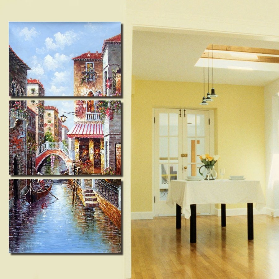 Philippines | 50*70CM3 Pcs Wall Art Abstract landscape Modern HD ...
