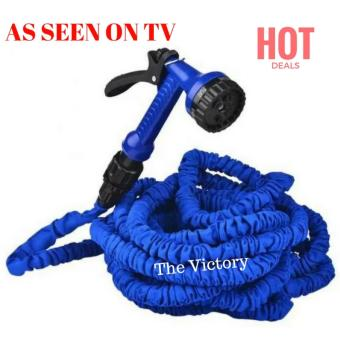 50ft Magic Multifunctional Expandable Garden Flexible Hose Pipe& Spray Gun