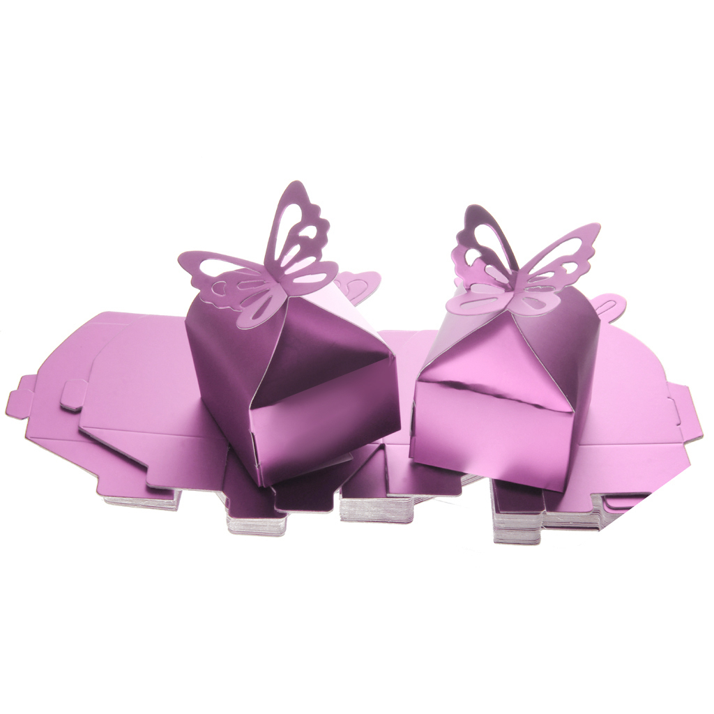 Philippines | 50PCS Butterfly Candy Gift Box Baby Shower Wedding ...