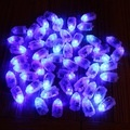 50pcs/lot LED RGB Flash Lamps Balloon Lights for Paper LanternBalloon Light White, Red, Blue, Green, Yellow Wedding Decoration -intl Price Philippines