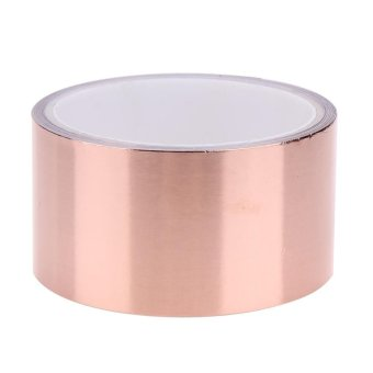 5.5 Meters 5 cm Double Conductive Adhesive EMI Shielding CopperFoil Tape - intl