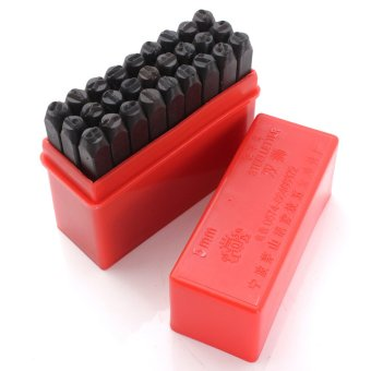 5MM Size Stamps Alphabet Letters Set Punch Steel Metal Die Tool Craft