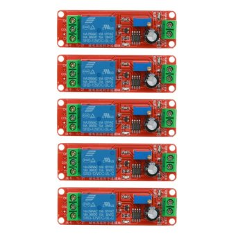 5pcs DC 12V Delay Relay Shield NE555 Timer Switch Adjustable Module- intl