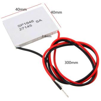 5pcs Thermoelectric Power Generator Peltier Module TEG 40*40mm High Temperature 150? - Intl - 2