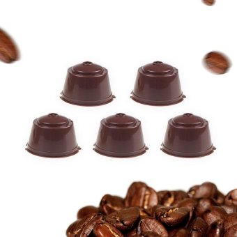 5pcs/pack use 250 times Refillable Dolce Gusto coffee Capsule nescafe dolce gusto reusable capsule dolce gusto capsules - intl