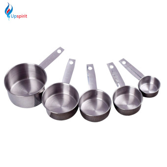 5Pcs/Set Stainless Steel Measuring Spoons Cups Measuring Set Tools