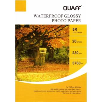 5R High Gloss Photo Paper (3 Packs 20 Sheets)