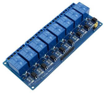 5V 8 Channel Relay Board Module for Arduino Raspberry Pi ARM AVRDSP PIC