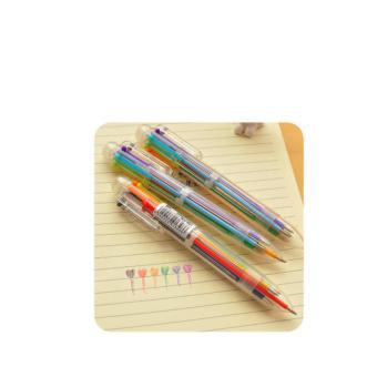 6 Colors Color Pen