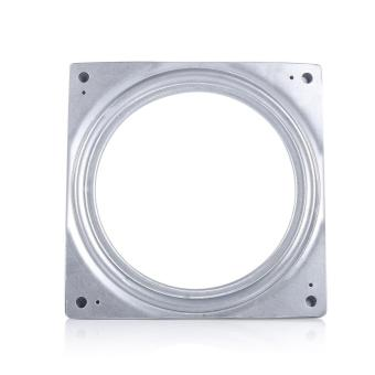 6 Inch Square Rotating Swivel Plate Metal Lazy Susan Bearing Turntable - intl