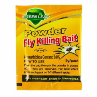 6 Pcs. Powder Fly Killing Bait Pest Control Miraculous killingInsecticide 5g FREE 1 Cockroach killing bait - 2