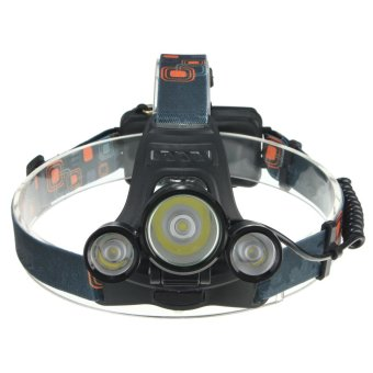 6000LM 3x LED XM-L2 T6 Headlamp Headlight Head Light TorchFlashlight Lamp