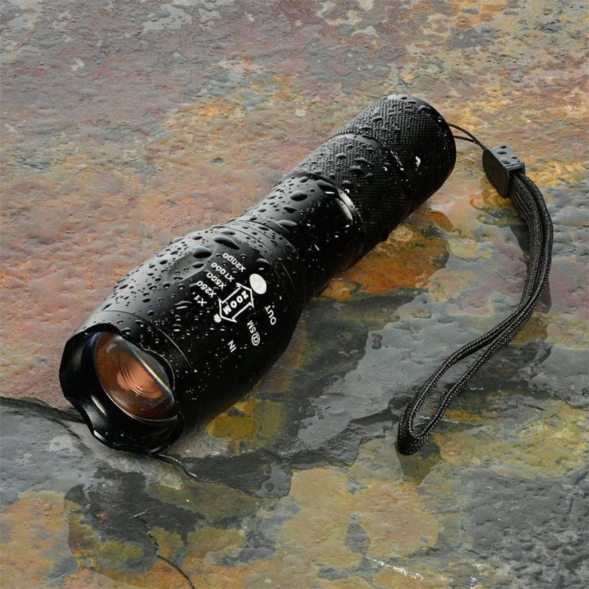 6000LM Shadowhawk X800 L2 LED ZOOM Flashlight Torch Powerful - intl