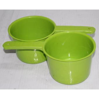 601 Water Dipper Colored Class A Green Set of 2