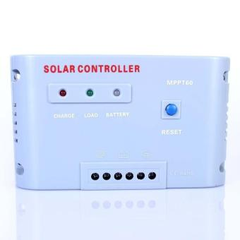 60A 12V 24V MPPT Solar Regulator Charge Controller Autoswitch Solar Panel 1500W For Battery Charging - intl