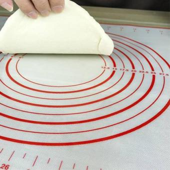 60x40CM Silicone Baking Mat Sheet Rolling Dough Liners Pad - intl - 3