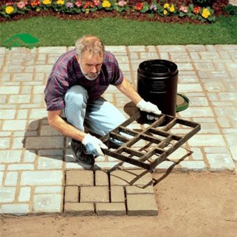 60x50cm Pathmate Mold Paving Stone Pavement Paver Maker Mould DIY -intl