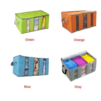 65L Home Closet Storage Bag Organizer Box Anti-bacterial Clothes Finishing Bag - intl - 2