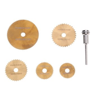 6pcs/set Mini Tool Circular Saw Blades For Metal Rotary Cutter Powe