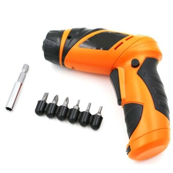 6V Screwdriver Battery Operated Cordless Wireless Mini ElectricScrew Driver nut Tool - intl Price Philippines