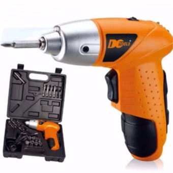 6V Screwdriver Electric Drill Battery Operated Cordless WirelessMini Portable
