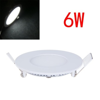 6W Dimmable LED Recessed Ceiling Panel Down Light Bulb Lamp - intl